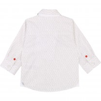 Baby Boy Logo Pattern Formal Shirt