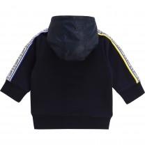 Two Tone Navy Alphabet Baby Jacket