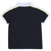 Navy Logo Sporty Baby Polo Shirt