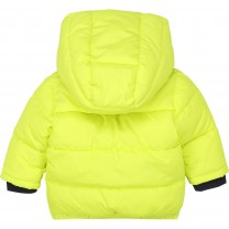 Lime Logo Baby Puffer Jacket