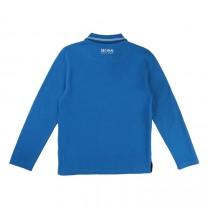 Blue Boss Polo Shirt