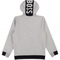 Light Grey Logo Hoodie