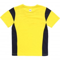 Yellow Logo Pattern T-Shirt