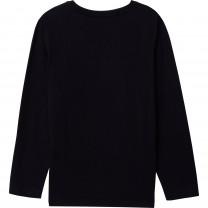 Black Striped Logo T-Shirt