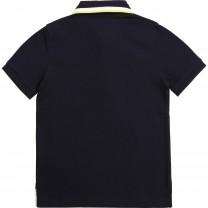 Navy Smart Logo Polo Shirt (14 - 16 years)