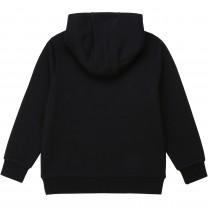 Black Logo Striped Sweater (14 -16 years)