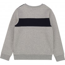 Grey Color Block Sweater (14 years)