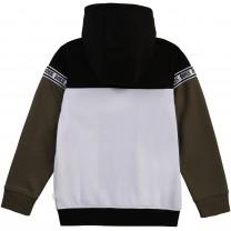 Color-Block Logo Jacket
