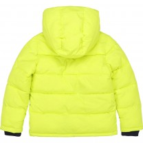 Lime Logo Puffer Jacket