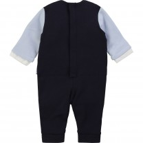 Baby Blue Suit Romper