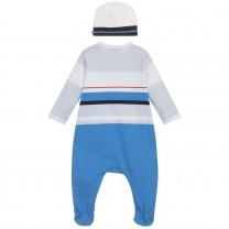 Baby Blue Romper