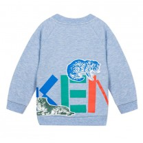Marl Blue Jungle Sweatshirt