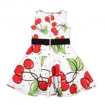White Cherry Dress