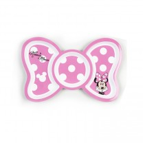 Disney Pink Bow Polka Dot Minnie Divided Plate