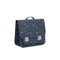 Navy Blue Origami School Bag