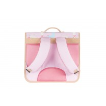 Light Pink Alpaca School Bag
