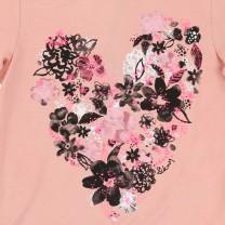 Flowery Pink Long Sleeves