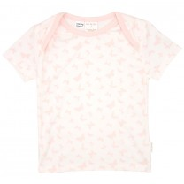 Pink Butterfly Print T-Shirt and Pants Set