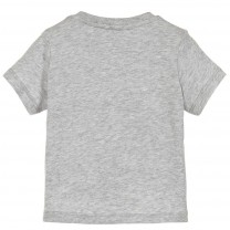 Grey Fruitty Cotton T-Shirt