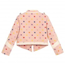 Pink Stars Military Jacket