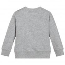 Grey Fruit Patches Sweatshirt