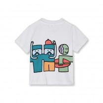White Cotton Baby T-Shirt