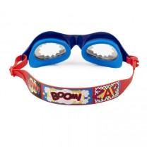 Super Dude Blue Swim Goggles