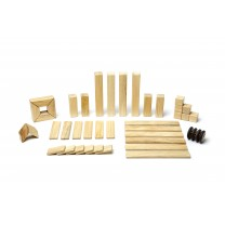 Natural Classics Magnetic Wooden Blocks (42 pieces set)