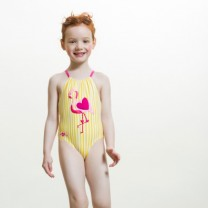 Yellow Flamingo Swimsuit