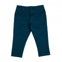 Blue Regular Fit Trousers