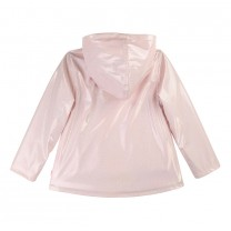Pink Glitter Rain Jacket
