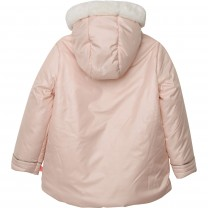 Baby Pink Hooded Jacket