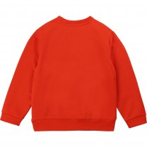 Red Graphic Sweater