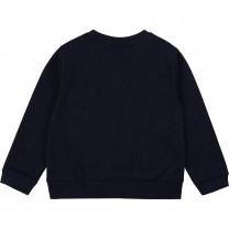 Navy Graphic Sweater