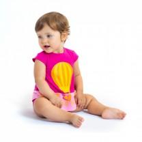 Pink Hot Air Balloon Baby Dress
