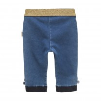 Gold Waist Denim Pants
