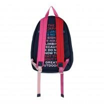Navy Marc Logo Backpack