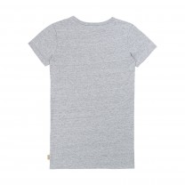 Grey Graphic Cotton Dress