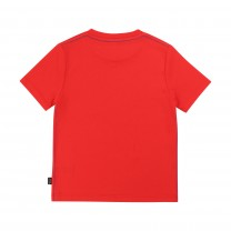 Red Logo Printed T-Shirt