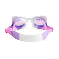 Pawdry Hepburn Whiskers White Swim Goggles