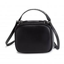 Black Karl Shoulder Bag