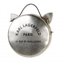 Gold Cat Sling Bag