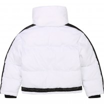 White Puffer Down Jacket
