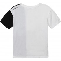Two tone Black and White Logo T-Shirt