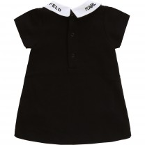 Black Collared Baby Dress