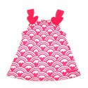 Pink Rainbow Heart Dress