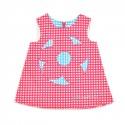 Fuchsia Checkered Dress