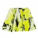 Lime Monster Print Skirt
