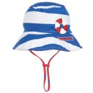 Sailor Blue Striped Sun Hat