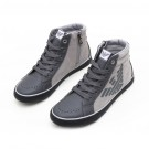 Grey Leather High Top (size 36-40)